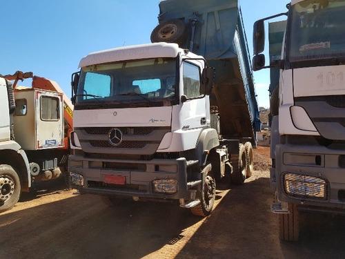 mercedes-bens axor 4144 6x4 ano 2012 (várias unidades)
