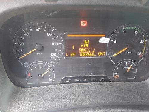 mercedes-bens axor 4144 k 6x4 ano 2011 km 108.226