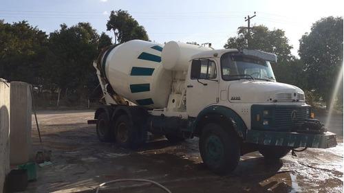 mercedes bens lb 2220, 1989, com betoneira siti 7m³,  2001