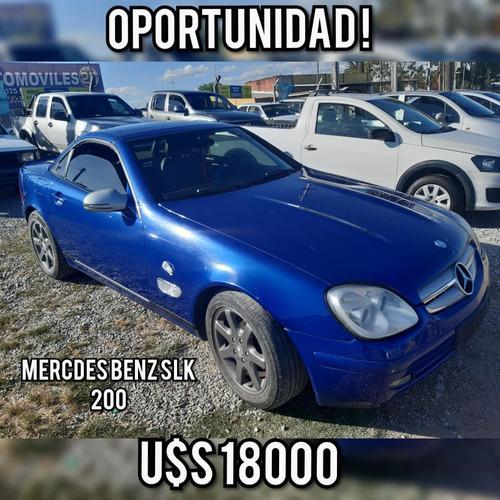 mercedes bens slk 200 u$s 18000