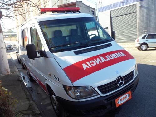 mercedes bens sprinter 3130 ano 2008 ambulancia