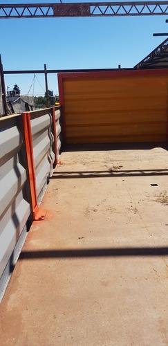 mercedes benz 1113 caja chata con barandas rebatibles