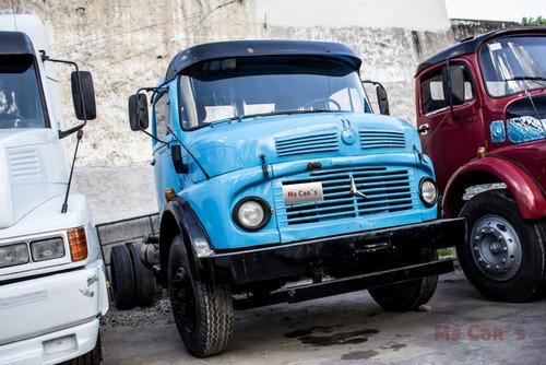 mercedes benz 1114 1970 chasis diesel azul