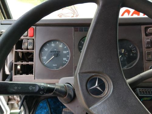 mercedes benz 1215, año 1992, con furgón térmico s/ ganchera