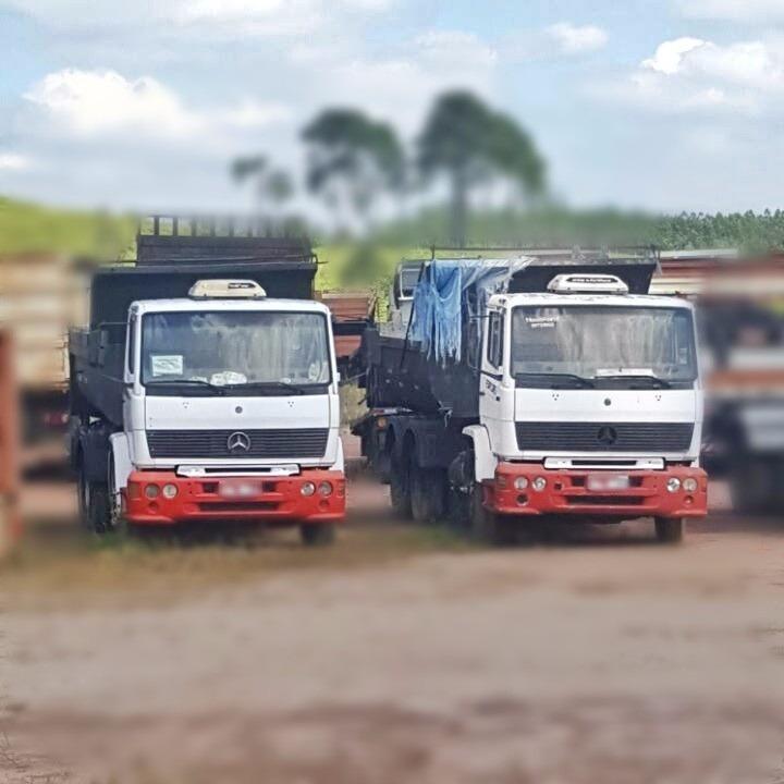 mercedes-benz 1218 caminhão