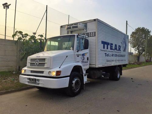 mercedes benz 1218 furgon termico - equipo de frio