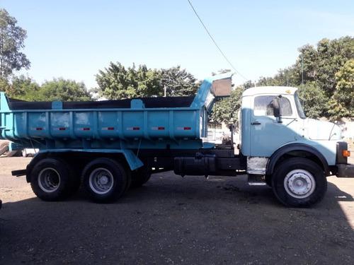 mercedes-benz 1313 caçamba  6x2 ano 1976
