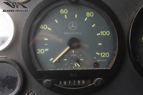 mercedes benz 1418 - ano: 1999 - baú