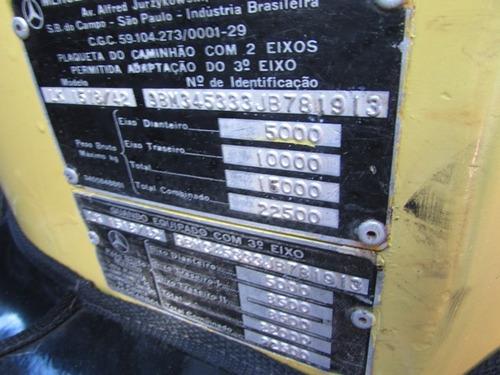 mercedes benz 1518 (6x2) (varias unidades)