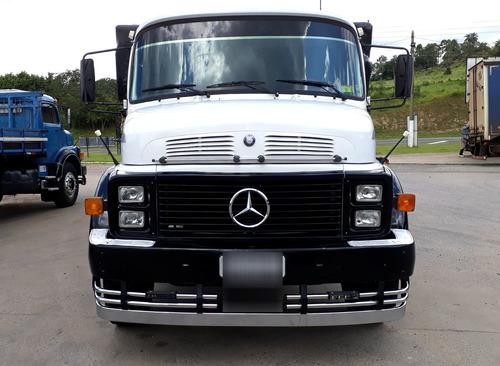 mercedes-benz 1518 reduzido truck graneleiro