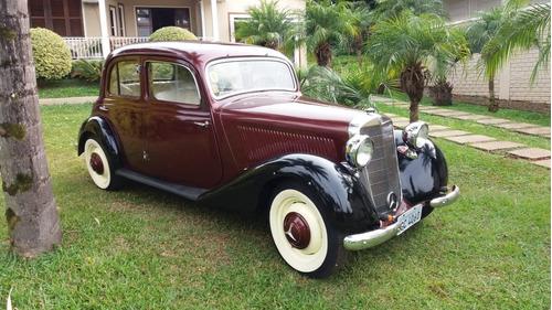 mercedes benz 160sd diesel 1951 original