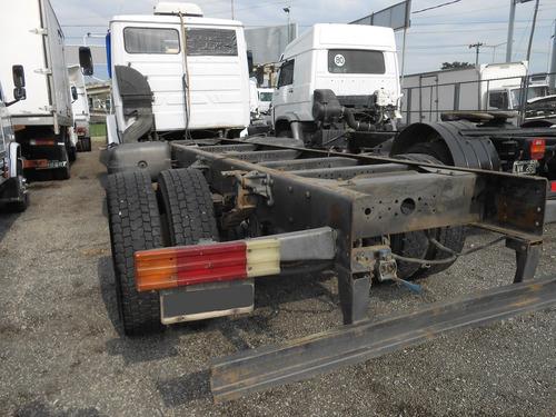 mercedes benz 1620/51 chasis 2 tanques de gas-oil climatik