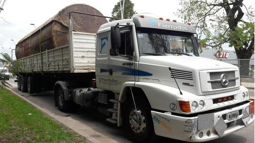 mercedes benz 1634 2005 tractor equipo hidraulico para batea