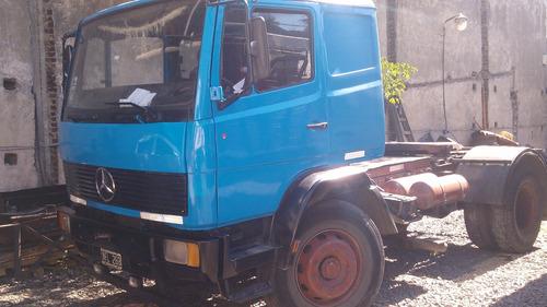 mercedes benz 1715-1620. tractor