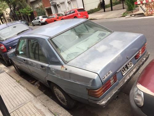 mercedes benz 190 e 1986