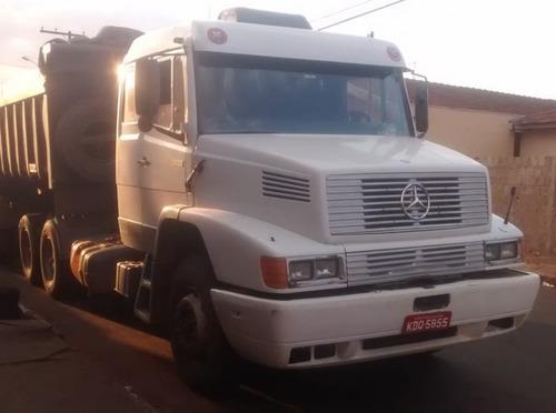 mercedes benz 1935 1998 6x2 branco (motor novo)