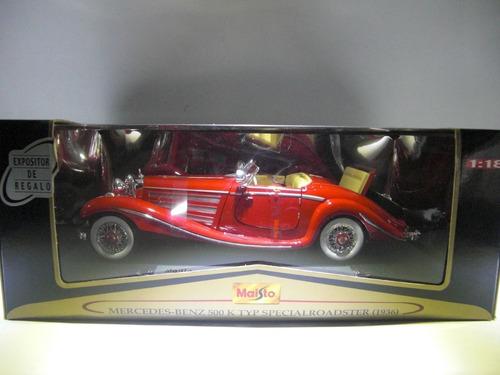 mercedes benz 1936 marca maisto premier  escala 1:18