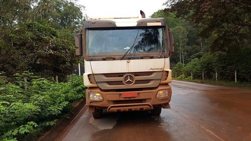 mercedes-benz   2 unidades 4844k 8x4 ano 2010/2011 actros
