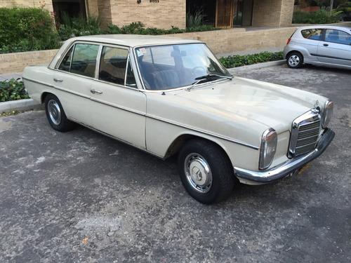 mercedes benz 200 1968 w115 crema único dueño