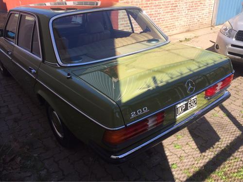 mercedes benz 200 1979