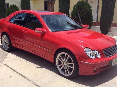 mercedes benz 2002 rojo en magnifico estado
