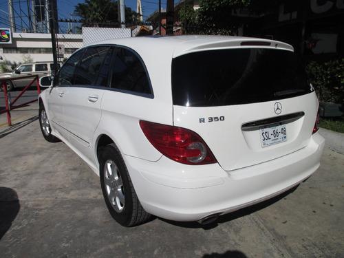 mercedes benz 2007 r 350 premium 7 pasajeros 6 cil
