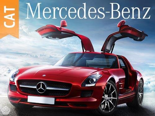 mercedes benz (2016-1935) catálogo de partes autos camiones