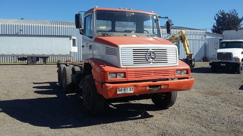 mercedes benz 2221 1997 6x4 camion plano