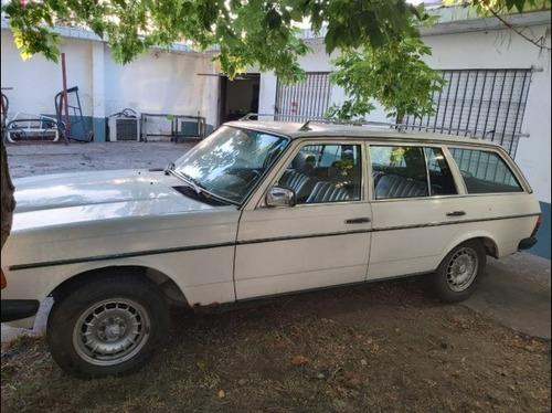 mercedes-benz 230 2.3  rural nafta 1981 unico dueño