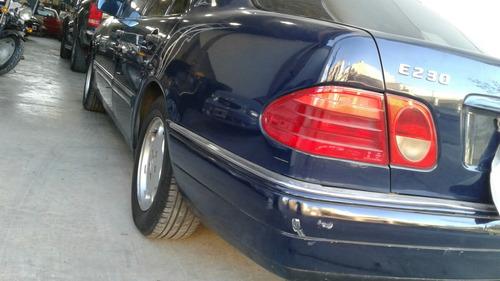 mercedes benz 230e elegance 1997 rodado y patentado 2001