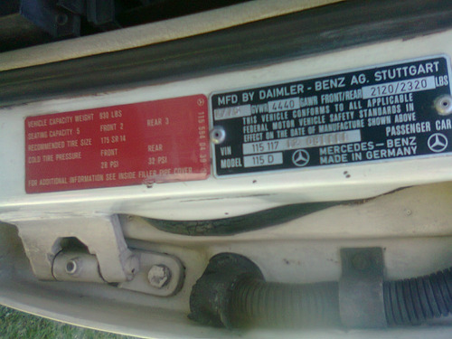 mercedes benz 240d version americana unico dueño automático