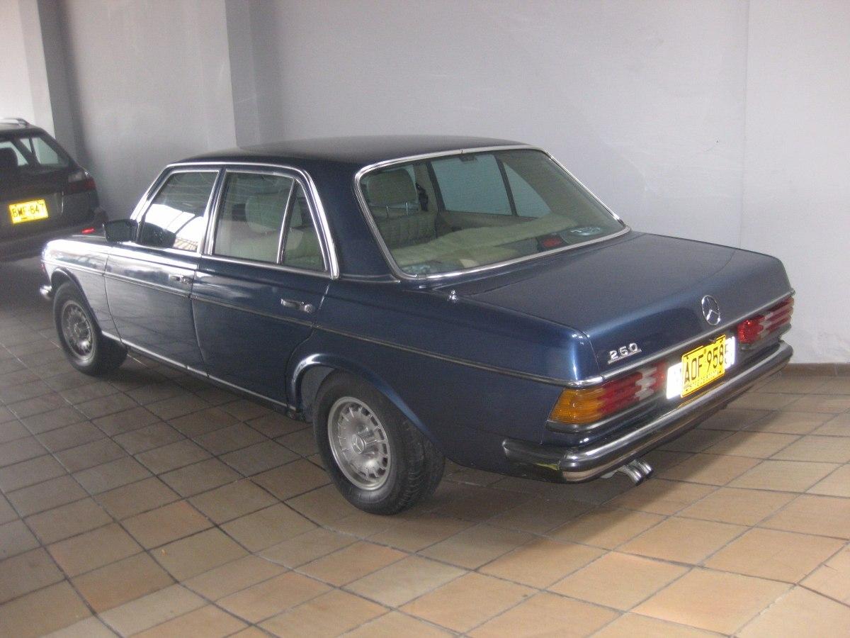 Mercedes benz 250 modelo1982 en tucarro for Mercedes benz modelos