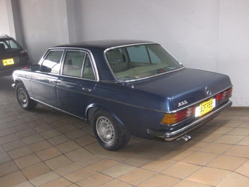 mercedes benz 250 modelo1982