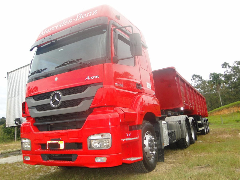 mercedes benz 2536 cavalo trucado 2012