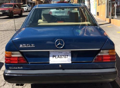 mercedes benz 260 e año 1988 de 2600cc