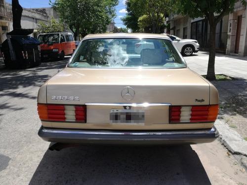 mercedes benz 280 1981