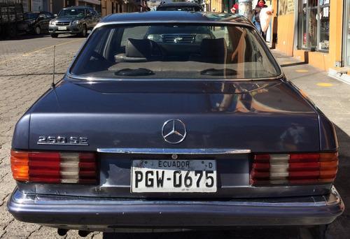 mercedes benz 280 año 1982 de 2800cc