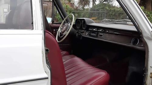 mercedes benz 280 s año 70 - motor diesel- vendo o permuto
