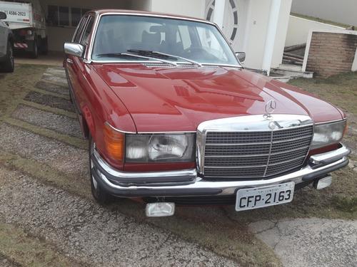 mercedes benz 280 se raridade linda 1976