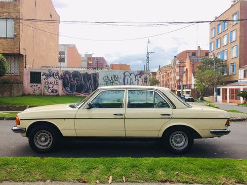 mercedes benz 280e w123 1985