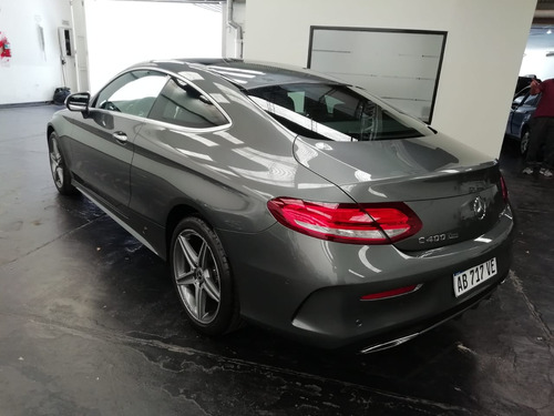 mercedes-benz  3.0 c400 coupe amg-line 333cv impecable (ig)