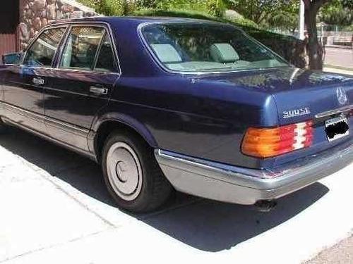 mercedes benz 300 se w126 1986