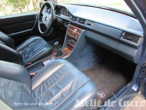 mercedes benz 300e 1986 como zero km  -ateliê do carro