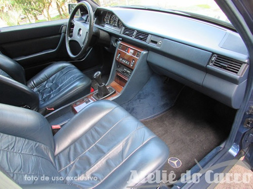 mercedes benz 300e 1986 pintura original  -ateliê do carro