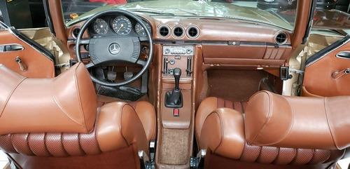 mercedes-benz 350sl v8 /1972 - placa preta.