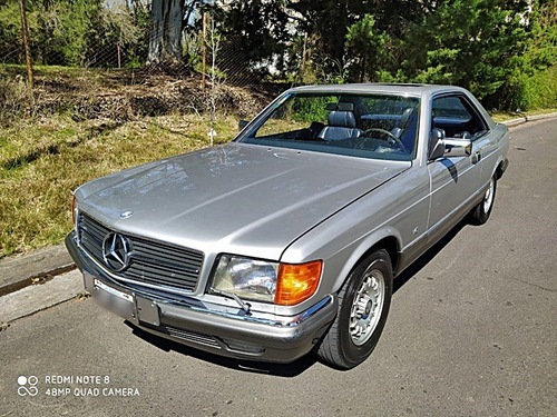 mercedes benz 380 sec at 1984