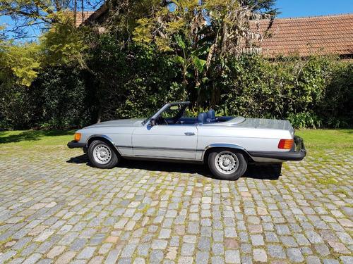 mercedes benz 380 sl roadster silver - macome classic.