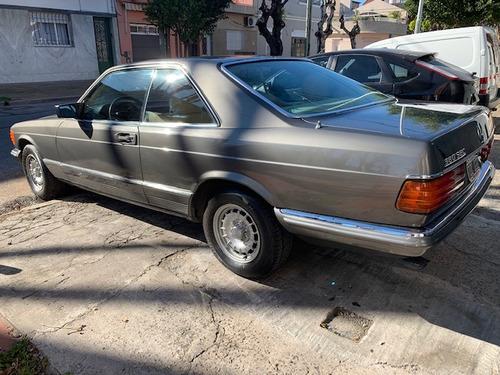 mercedes benz 380sec 1988 impecable dorrego motors