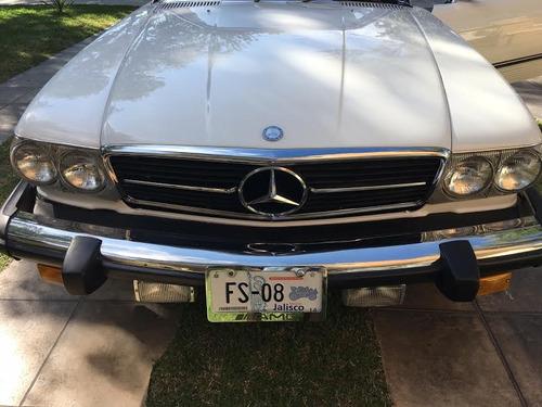 mercedes-benz 450 sl 1975, placas carro antiguo
