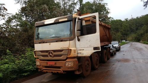 mercedes-benz 4844k 8x4 ano 2010/2011 actros euro 3